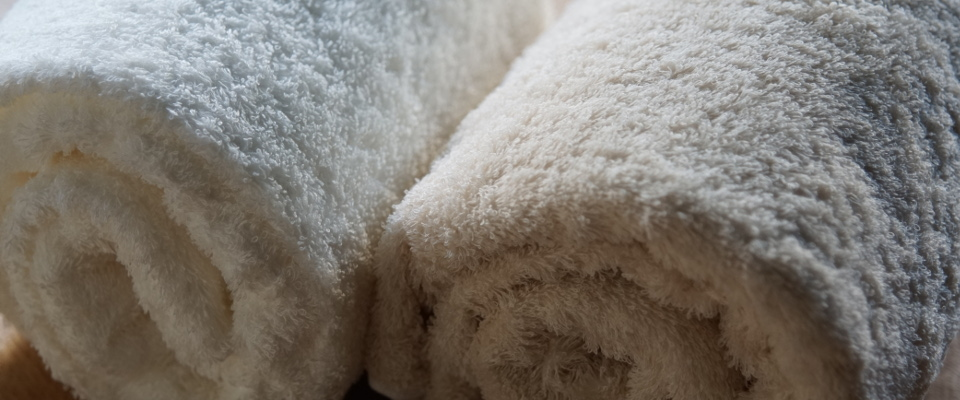 肌着の糸でつくったタオル