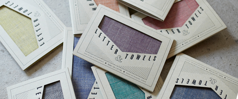 LETTER and TOWELS